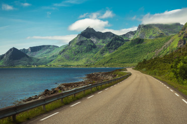 Norwegian Lofotens Archipelago Scenic Route