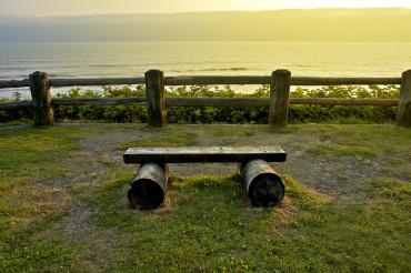 Ocean Front Bench