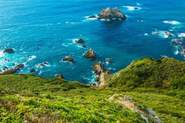 Ocean Shore Coastal California