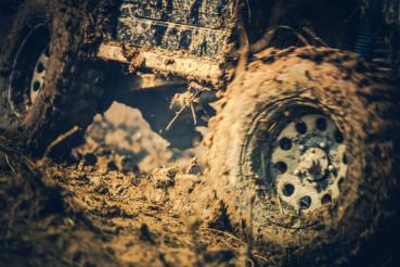 Off Road Dirt Drive