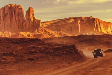 Off Road Drive in Arizona
