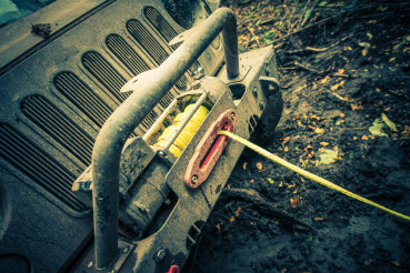 Offroad Car Recovery Winch