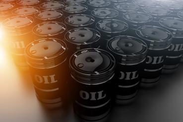 Oil Barrels Fossil Fuel Concept