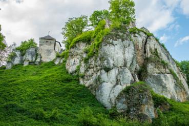 Ojcow Castle in Poland