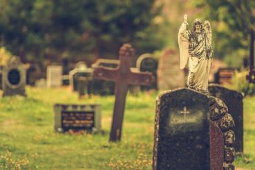 Old Cemetery Gravestones