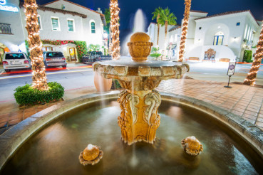 Old Town Fountain La Quinta