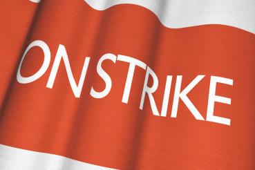 On Strike Flag Concept