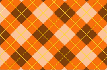 Orange-Brown Pattern