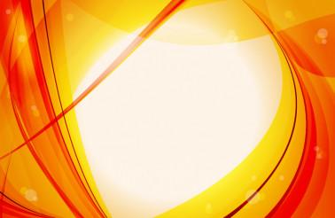 Orange-Red Vector Background