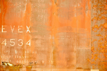 Orange Rusty Background
