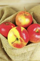 Organic Apples in Bag