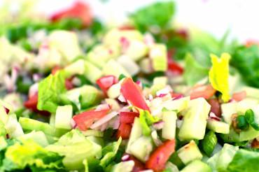 Organic Spring Salad