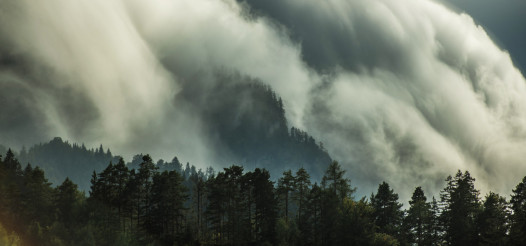 Orographic Clouds Panorama
