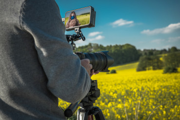Outdoor Film Making with Digital Camera