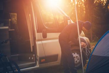 Outdoor Men Camping