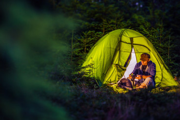 Overnight Forest Camping