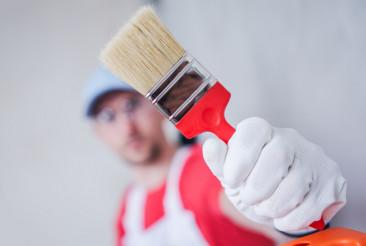 Paintbrush Painting Job