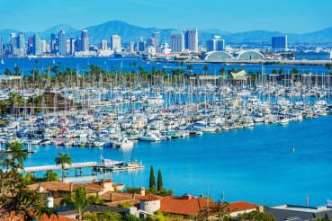 Panorama of San Diego