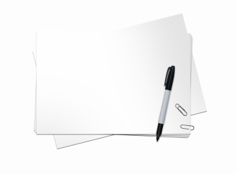 Paper and Pen PNG