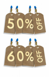 Paper Discount Tags
