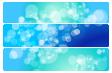 Particles Vector Banners