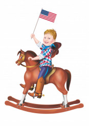 Patriot on the Rocking Horse