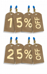 Percent Paper Tags Sale Discount Concept PNG