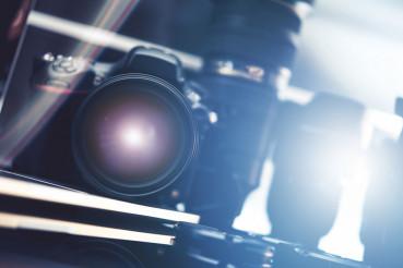 Photography Equipment Concept