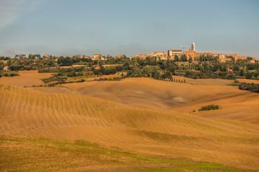 Pienza in Tuscany Italy