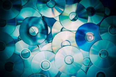 Pile of Compact Discs