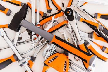 Pile of Garage Tools