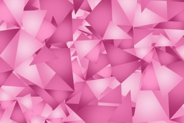 Pink Triangles Background