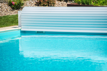 Plastic Solar Swimming Pool Cover For Outdoor Use