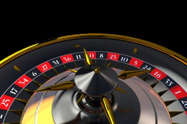 PNG Casino Roulette Wheel Closeup 3D Graphic