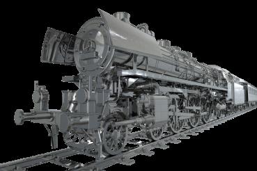PNG Chrome Locomotive