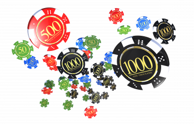 PNG Isolated Colorful Casino Chips