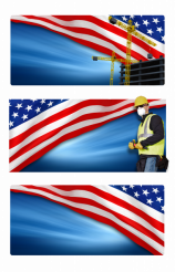 PNG Labor Day Banners
