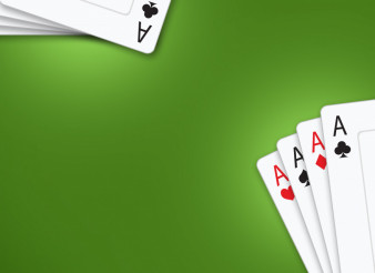 Poker Cards Green Table