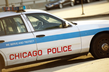 Police Cruiser in Chicago