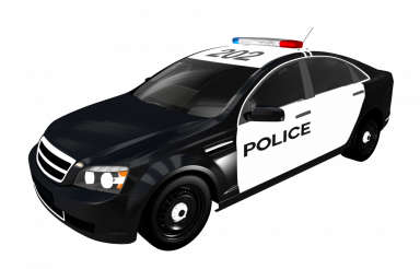 Police Cruiser PNG