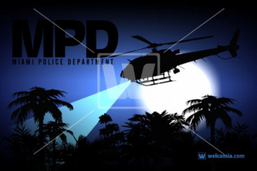 Police Search Helicopter