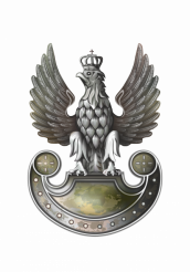 Polish Army Eagle Emblem Illustration