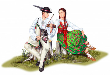 Polish Highlander Couples