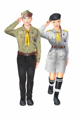 Polish Scouts Isolated
