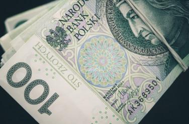 Polish Zloty Banknotes Closeup