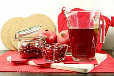 Pomegranate Hot Tea