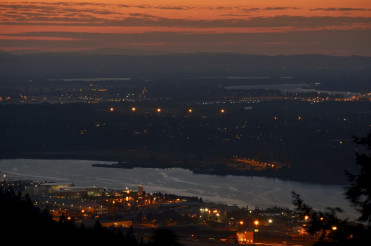 Portland Sunset Industrial
