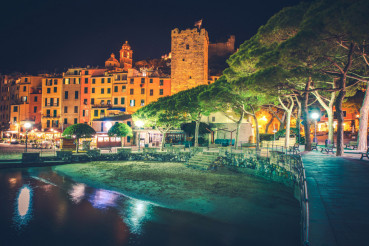 Porto Venere Night Scenery