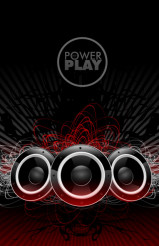 Power Play Sound Speakers Disco Music Design