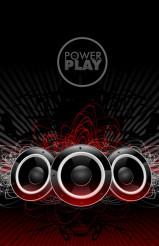 Power Play Sound Speakers Disco Music Design